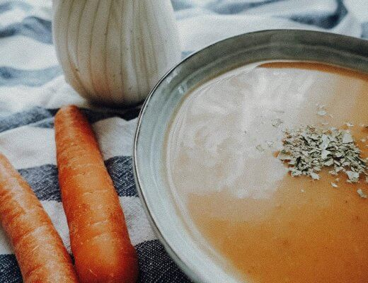 cremige Fenchel-Karotten-Suppe